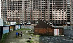 Glasgow's Red Road Flats await demolition