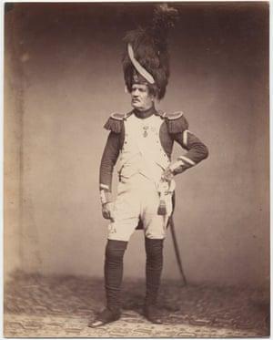 Taria, A veteran of the Napoleonic Wars, taken around 1857.