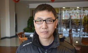 Wang Lin in Tianjin Eco-city, China.
