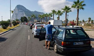 Gibraltar accused Madrid of causing border tailbacks