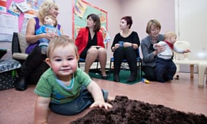 Harriet Harman, Lucy Powell and others at a Sure Start centre, Manchester, Britain - 14 Nov 2012
