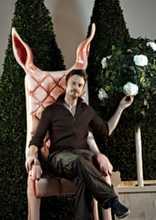 'Every reason to rejoice': Christopher Wheeldon on the set of Alice's Adventures in Wonderland in 20