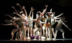 A scene from Christopher Wheeldon's Aeternum at the Royal Opera House in 2013.