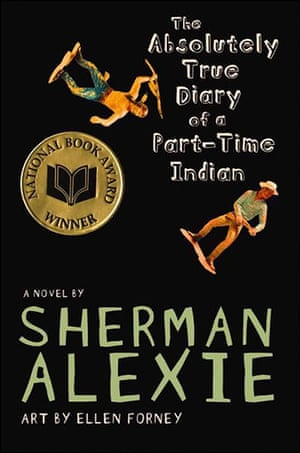 Most chellenged books: 3) The Absolutely True Diary of a Part-Time Indian, by Sherman Alexie was c
