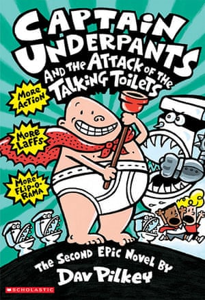 Most chellenged books: 1) Captain Underpants (series), by Dav Pilkey was cited for: offensive lang