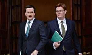 Danny Alexander with George Osborne