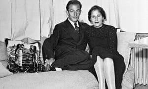 Salvador Dali and Gala Eluard