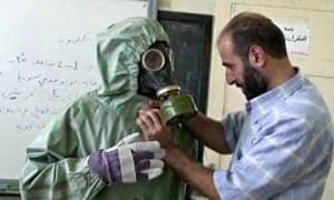 poison gas syria