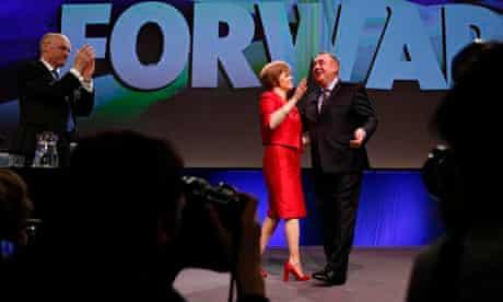Alex Salmond Nicola Sturgeon Scotland SNP conference