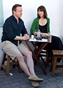 Prime Minister David Cameron Holidays In Lanzarote