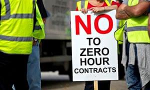 Zero-hours strike