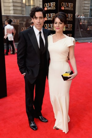 Olivier Awards: Stephen Mangan and Louise Delamere