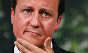 David Cameron Makes Speech On Forthcoming Policy