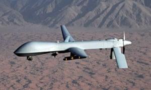 Predator drone aircraft