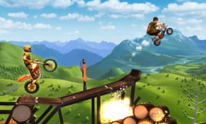 Trials Frontier races onto iPhone and iPad.