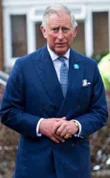 Prince of Wales in March 2014