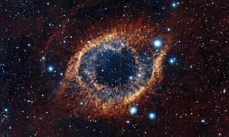 ESO's Visible and Infrared Survey Telescope image showing Helix Nebula