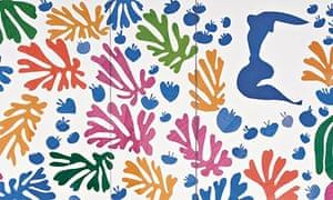 Henri Matisse - The Parakeet and the Mermaid 1952 (detail)