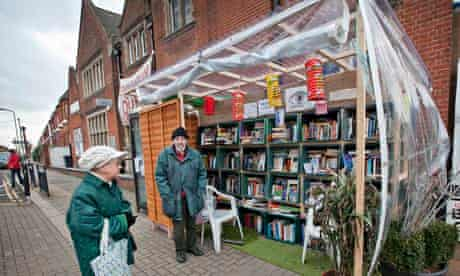 Pop-up library, Kensal Rise