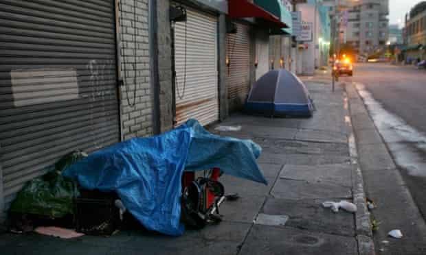 homeless in california