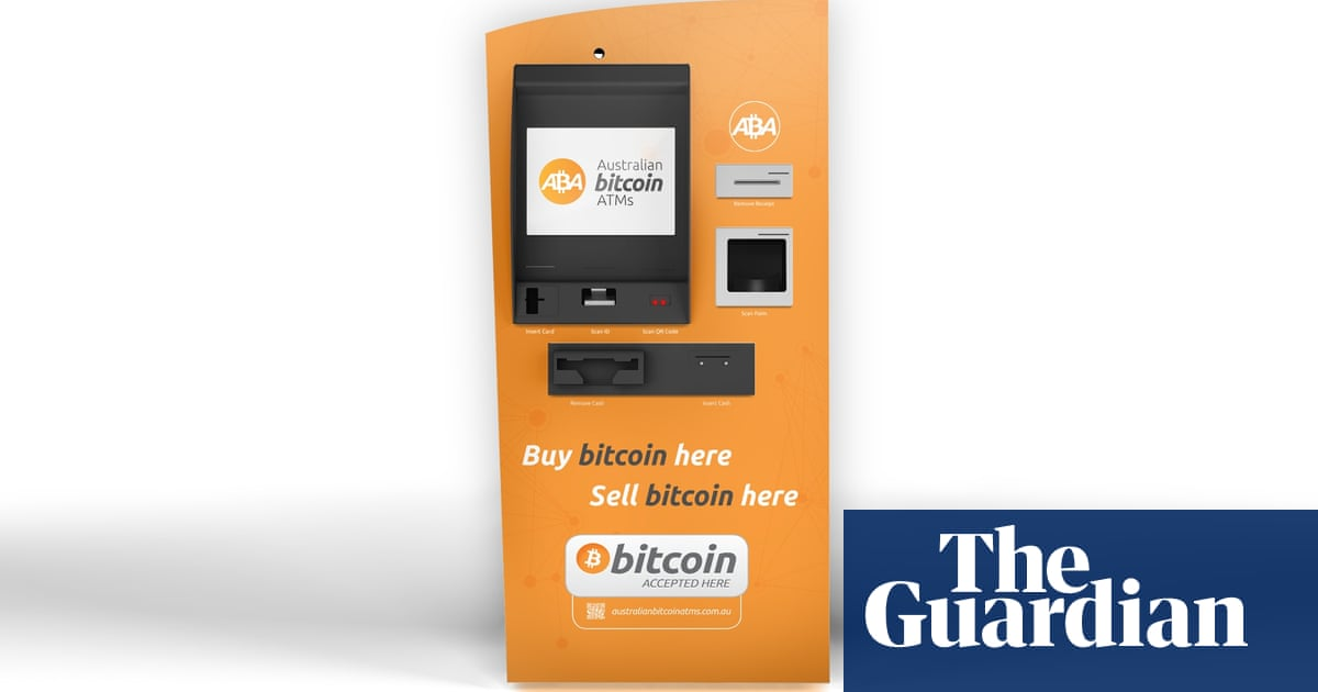 Australias first bitcoin automatic teller opens for business in australias first bitcoin automatic teller opens for business in sydney technology the guardian ccuart Images
