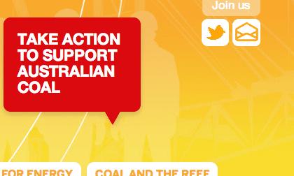Australians for coal