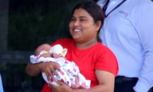 Ferouz asylum seeker baby