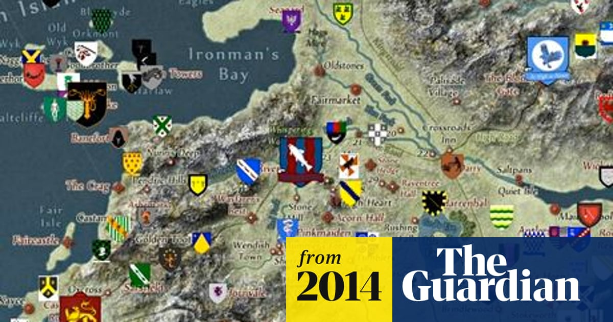 Game of Thrones fans create an interactive map of Westeros ... Game Thrones Map World on ice and fire world map, ascension world map, argo world map, walking dead world map, install world map, fast food world map, movie world map,