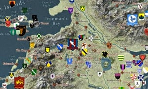 Interactive Map Of Westeros Game of Thrones fans create an interactive map of Westeros via