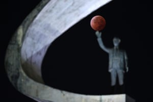 The eclipse as seen in Brasilia