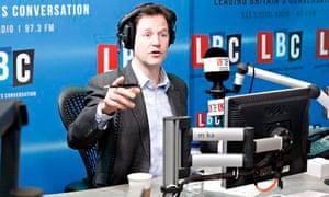 Nick Clegg at LBC