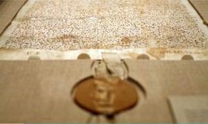 Copy Of Magna Carta