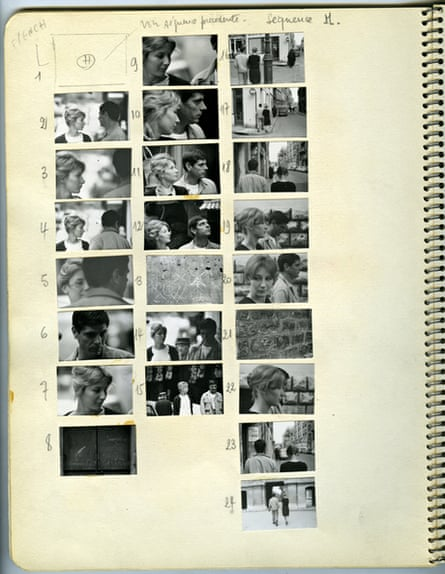 Chris Marker's workbook for the creation of La Jetée