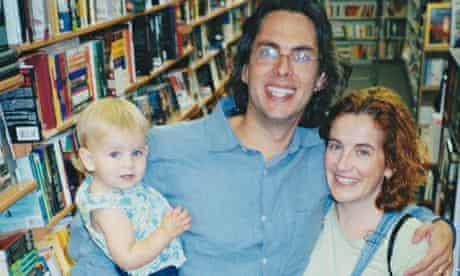 Ayelet Waldman with husband Michael Chabon and daughter Ida-Rose in 2004.