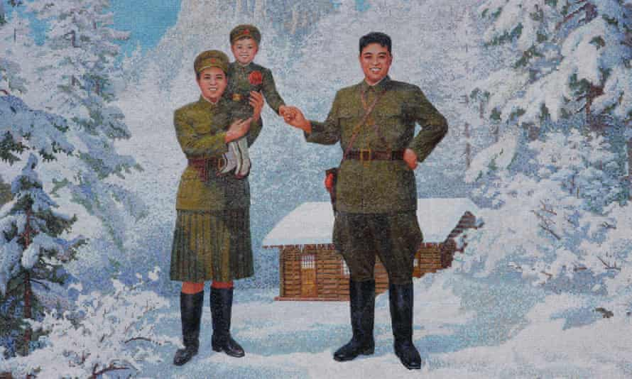 North Korea's official history asserts that the nation's founder, Kim Il-sung, led the fight for independence from a log cabin at the foot of Mount Paektu