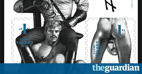 Homoerotic Artist Tom Of Finland Gets The Official Stamp Of Approval Art And Design The Guardian