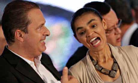 Eduardo Campos and Marina Silva