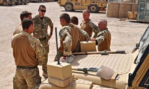 Camp Bastion soldiers