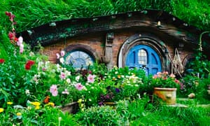 Hobbit style cabins and gardens ranked high on this year's wishlist.