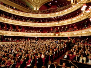 Royal Opera House audience