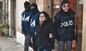 Messina Denaro's sister, Patrizia