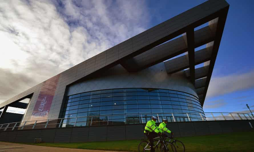 The Chris Hoy velodrome in Glasgow, Scotland - the local area with the lowest life expectancy in the country. The velodrome was built for the Commonwealth Games 2014, which starts in July.