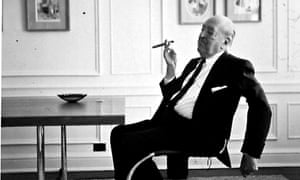 'A bit of a bastard':  Ludwig Mies van der Rohe in his Chicago apartment in 1964.