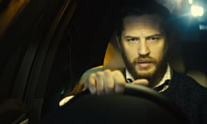 'Mastery of small, telling gestures': Tom Hardy as a man who goes awol in Locke.