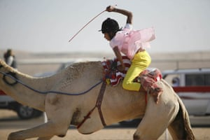 ASI 175th birthday: child camel jockeys