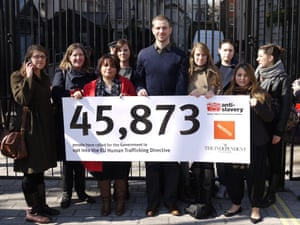 ASI 175th birthday: Number 10 petition delivery