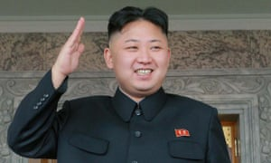 Kim Jong Un salutes a military parade in 2012, in a picture released by North Korea's official Korean Central News Agency.
