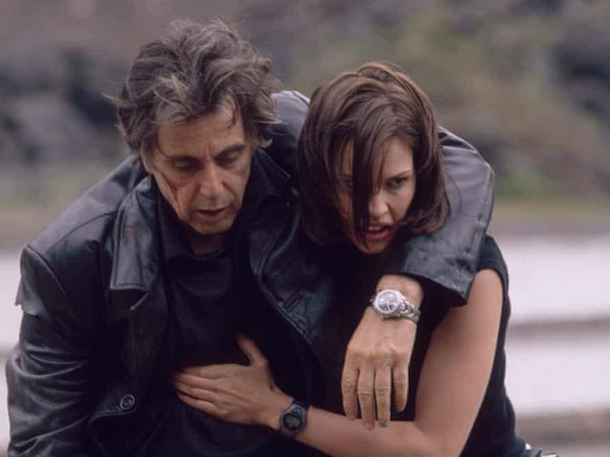 Al Pacino and Hillary Swank in Alcon Entertainment s suspense-thriller, Insomnia.