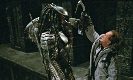 Heavy weaponry … the casting of Lance Henriksen lends some gravitas and legitimacy to AvP.
