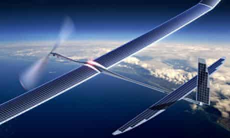 Google recently acquired Titan Aerospace, a startup firm that makes pilotless drone aircraft.